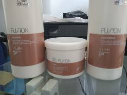 Título do anúncio: Shampoo+Condicionador+Máscara Wella Fusion