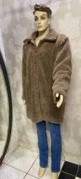 Título do anúncio: Sobretufo  Quentinho, lã, tamanho M, gramado, frio, inverno