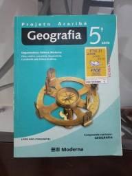 Título do anúncio: Projeto Araribá Geografia 5 serie