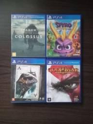 Jogos de Playstation 4 (Leia a Descrição)
