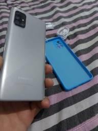 Título do anúncio: Troco Samsung a71 128 GB
