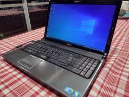 Notebook Dell Inspiron 1564, Core I5, 4Gb de RAM e SSD de 256 GB
