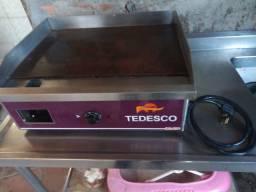 Título do anúncio: Chapa elétrica Tedesco BG 62E 220 volts