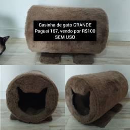 Título do anúncio: Casinha de gato/cachorro quentinha