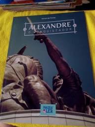 Alexandre o conquistador, livro em ótimo estado