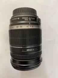 Objetiva Canon 18-200 mm
