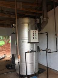 Caldeira geradora de vapor ETNA  a lenha