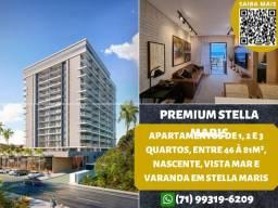 Título do anúncio: Premium Stella Mares, 2 quartos, suíte, varanda em 70m² com 2 vagas na garagem