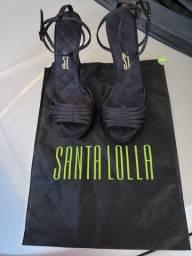 Sandália de festa Santa lolla