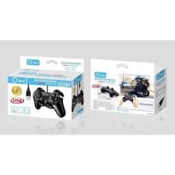Título do anúncio: Controle Usb para Tv Box, Pc, PS3 Com Fio