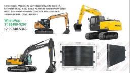 Título do anúncio: Condensador Hyundai volvo case