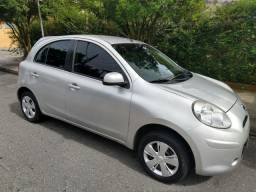 Nissan March S 1.0 2014 Aceito Moto