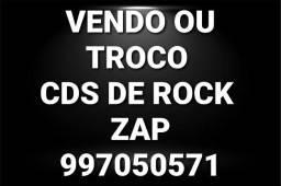 Vendo ou troco cds de rock
