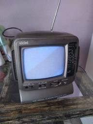 Título do anúncio: Mini tv antiga bi volt