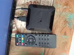 Título do anúncio: TV box Android 10.0 2.4G Wi-fi 4K Set top smart box multiplayer