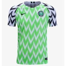 Camisa Retrô Nigéria 2018 Home
