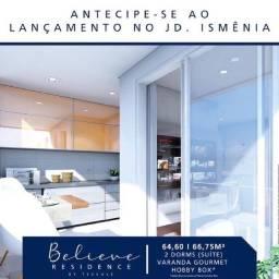 Título do anúncio: apartamento na planta 2 dormitórios com suite e varanda - 64m² - Zona Leste de SJC