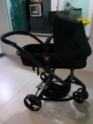 Carrinho de bebê + Bebê Conforto + Moisés