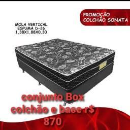 Título do anúncio: Cama box com colchão