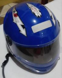 Capacete de moto para criança