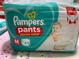 Título do anúncio: Pacotão Pampers pants M
