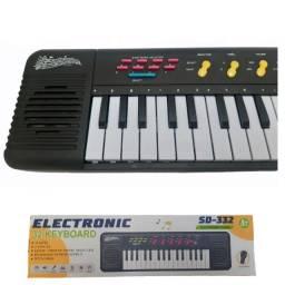 Título do anúncio: Teclado Infantil / Piano Brinquedo Musical