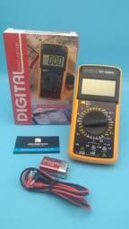 Multimetro digital capacímetro//só hoje entrega grátis