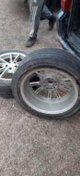Título do anúncio: Rodas 17 com pneu