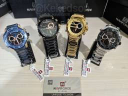 Relógio Naviforce NF9163 Original $180,00 A Vista