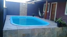 Casa  em frente à praia com piscina temporada Cabo Frio Unamar R$ 199,.00 diária