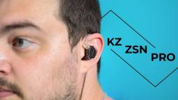 Título do anúncio: Fone kz zsn pro S E M  mic