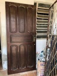 Título do anúncio: Porta de Madeira Maciça 2,10x90