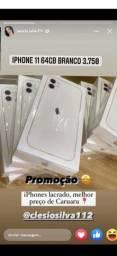 Título do anúncio: Iphone 11 64gb branco caruaru  lacrado