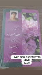 Título do anúncio: Livro novo zibia Gasparetto