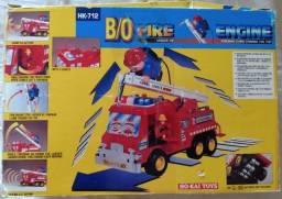 (Leia O Anúncio) Caminhão Bombeiro BO Fire HK-712 Eletrônico