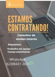 Título do anúncio: Consultor de vendas