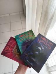 3 livros A HORA DO ESPANTO