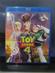 Blu-ray Toy story 4 e Viva a vida é uma festa