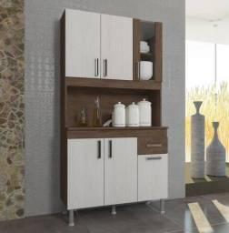 Título do anúncio: Kit Cozinha Lion 0,90m 6 Portas 1 Gavetas. Montagem por conta do Cliente