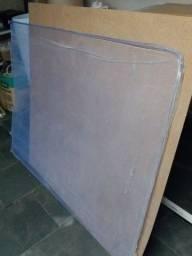 Título do anúncio: Acrílico azul translúcido -1050 x 1400mm - cód. AZ 581 - 5mm