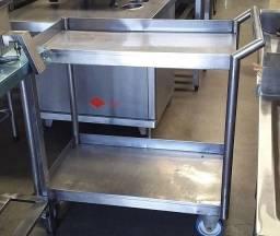Título do anúncio: Carros inox para cozinhas industriais sob medida