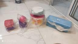 Conjuntos diversos Tupperware