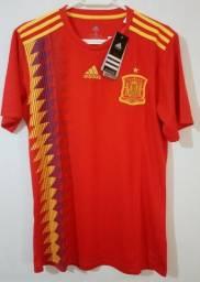 Camisa Espanha Home Adidas 2018
