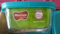 Potes de vidro Marinex