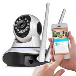 Câmera Ip Ir Wireless Visão Noturna Controle com o Celular Via Internet(Entrega Grátis)
