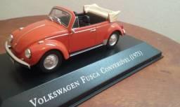 Miniatura Fusca Cabriolet - Inesquecíveis do Brasil