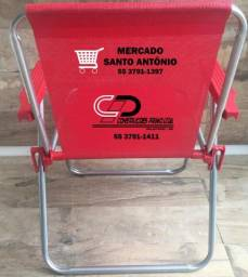 Cadeira de praia personalizada
