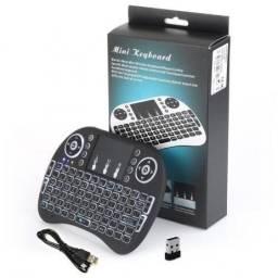Mini Teclado Sem Fio Com Touchpad Ideal Para Smart Tv Pc Notebook e celular(Entrega Grátis