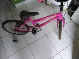 Bicicleta Semi-Nova Criança