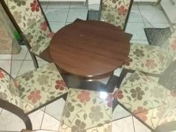 Mesa jantar 6 cadeiras